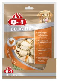 8 in 1 Delight csirkehúsos rágócsont S 6 db-os