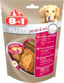 8 in 1 Fillets PRO SKIN & COAT S jutalomfalat
