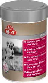 8 in 1 Fokhagymás élesztő tabletta kutyáknak, 260 db / 105 g