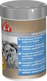 8 in 1 Multivitamin Junior, vitamin tabletta kölyök kutyáknak, 100 db / 125 g