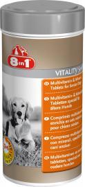 8 in 1 Multivitamin Senior, vitamin tabletta idős kutyáknak, 70 db / 150 g