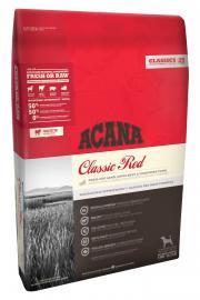 Acana Classics Red szárazeledel kutyáknak friss vörös húsokból, bárányhússal, angus marhahússal, és yorkshire sertéshússal, az összes kutyafajta részére, bármely életszakaszban