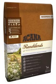Acana Regionals Ranchlands Dog szárazeledel kutyáknak vöröshúsokból és vadon fogott süllőből, az összes fajta részére, bármilyen életszakaszban