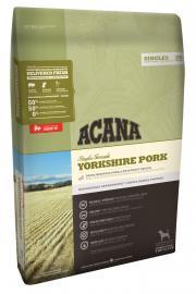Acana Singles Yorkshire Pork szárazeledel kutyáknak, kizárólag yorkshirei sertéshússal, az összes fajta részére, bármilyen életszakaszban, eledelallergiás kutyáknak is