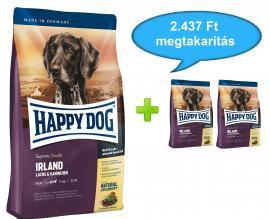 HAPPY DOG GIANT JUNIOR Lamb & Rice teljes értékű bárány rizses száraz eledel nagytestű kutyáknak 7 hónapos kortól