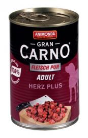 ANIMONDA GranCarno Adult Herz Plus konzerv kutyáknak 400 g