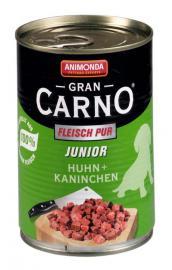 ANIMONDA GranCarno Junior Huhn + Kanichen konzerv kölyökkutyáknak 400 g
