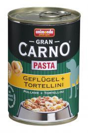 ANIMONDA GranCarno Pasta Geflügel + Tortellini konzerv kutyáknak 400 g