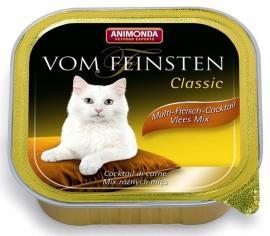 ANIMONDA VOM FEINSTEN CLASSIC Multi-Fleisch-Cocktail húskoktél felnőtt cicáknak, 100 g