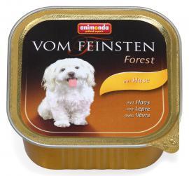ANIMONDA VOM FEINSTEN FOREST mit Hase konzerv kutyáknak vadnyúlhússal, 150 g