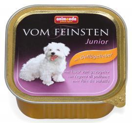 ANIMONDA VOM FEINSTEN JUNIOR mit Geflügelleber konzerv kölyök kutyáknak szárnyasmájjal, 150 g