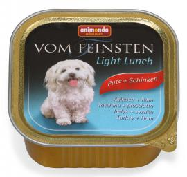 ANIMONDA VOM FEINSTEN LIGHT LUNCH Pute + Schinken konzerv kutyáknak pulykahússal és sonkával, 150 g