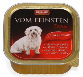 ANIMONDA VOM FEINSTEN SENIOR Rind + Geflügel konzerv idős kutyáknak marha-, és csirkehússal, 150 g