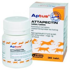 Aptus Attapectin tabletta az emésztés elősegítésére, kutyák és macskák részére, 30 db