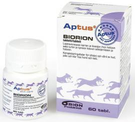 Aptus Biorion tabletta szőrre, bőrre és körömre macskák és kutyák részére, 60 db