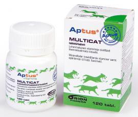 Aptus Multicat tabletta cicáknak, 120 db