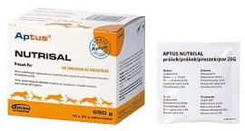 Aptus Nutrisal por a folyadék háztartás támogatására macskáknak és kutyáknak, 10x25 g