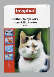 Beaphar bolha és kullancs elleni nyakörv cicáknak, 4 hónapos védettséggel