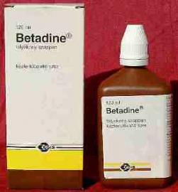 Betadine folyékony fertőtlenítő szappan kutyák és macskák részére 120 ml, és 1000 ml kiszerelésben