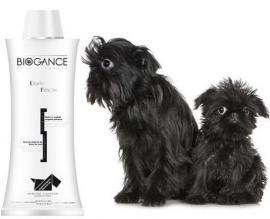Biogance Dark Black Shampoo - fekete, illetve sötét szőrű kutyák és macskák részére 4 féle kiszerelésben