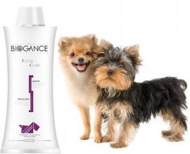 Biogance Long Coat Shampoo - sampon hosszú szőrű kutyák és macskák részére 4 féle kiszerelésben