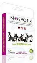 BIOSPOTIX Bolhaírtó nyakörv - nagytestű kutyáknak! (75cm) kullancs ellen - 100%-ban természtes!
