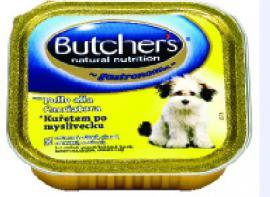 BUTCHER'S alutálkás eledel Csirke vadász módra ízben kutyáknak 150 gr-os