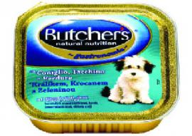 BUTCHER'S alutálkás eledel Nyúl / Pulyka / Zöldség ízben kutyáknak 150 gr-os
