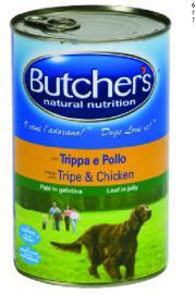 BUTCHER'S konzerv eledel Pacal / Csirke ízben kutyáknak 400 g-os, és 1200 g-os