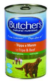BUTCHER'S konzerv eledel Pacal / Marha ízben kutyáknak 400 g-os, és 1200 g-os