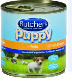 BUTCHER'S konzerv Puppy Csirke kölyök kutyáknak 400 g-os