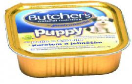 BUTCHER'S Puppy Csirke / Bárány ízben kölyök kutyáknak 150 g-os