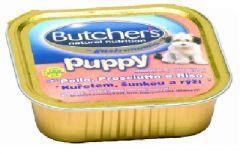 BUTCHER'S Puppy Csirke / Sonka / Rízs ízben kölyök kutyáknak 150 g-os