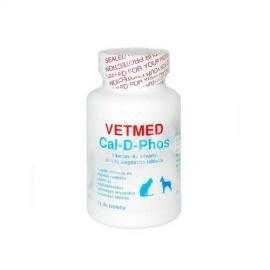 Cal-D-Phos vitamin és ásványianyag tabletta macskák részére 75 db-os