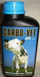 Carbo-Vet pulvis por a toxikus anyagok megkötésére kutyák részére 100 g-os