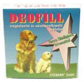 Deofill szagtalanító tabletta kutyák részére 50 db-os