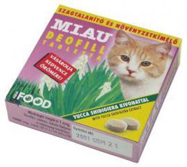Deofill szagtalanító tabletta macskák részére 50 db-os