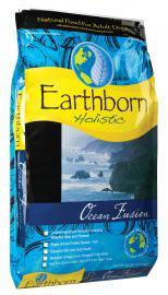 Earthborn Holistic Ocean Fusion teljesértékű száraztáp fehérhúsú hallal felnőtt kutyák számára két féle kiszerelésben