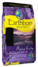 Earthborn Holistic Puppy Vantage teljesértékű száraztáp kölyökkutyák számára két féle kiszerelésben