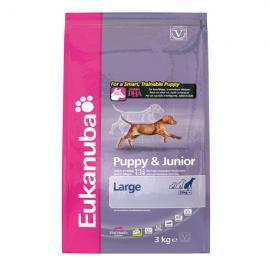 Eukanuba Puppy & Junior Large Breed száraz táp nagy és óriás testű kölyök kutyáknak