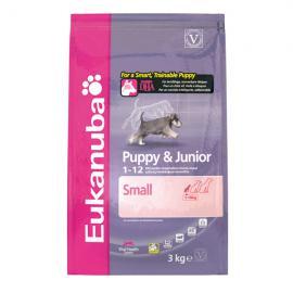 Eukanuba Puppy & Junior Small Breed száraz táp kistestű kölyök kutyáknak