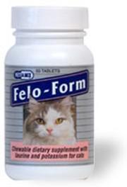Felo-Form táplálék kiegészítő tabletta kölyök, és felnőtt macskák részére 50 db-os