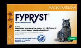 Fypryst antiparazita oldat bolha, kullancs és szőrtetvesség ellen 1 hónapos védettséggel macskák részére