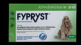 Fypryst 'M' antiparazita oldat bolha, kullancs és szőrtetvesség ellen 1 hónapos védettséggel 10-2 kg közötti közepes testű kutyák részére