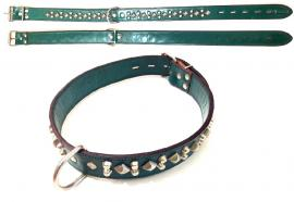 Giglioli Nyakörv bör, szegecselt, kívül-belül zöld, 65-75 cm-es nyakméretig, 6.744 Ft helyett 3.500 Ft