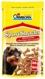 GIMBORN Sport Snacks csontocska Csirkés 60 gr