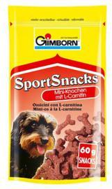 GIMBORN Sport Snacks csontocska Húsos 60 gr