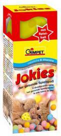 Gimpet Jokies B-vitaminos golyócskák szőrre és bőrre, és játszó labda