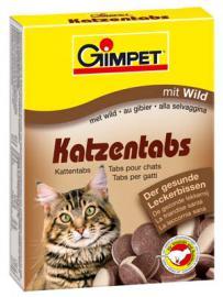 Gimpet Katzentabs mit Wild vadas ízesítésű vitamin tabletta 50 db-os