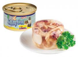 Gimpet Shiny Cat különleges tengeri halfalatok zselatinban 85 g-os